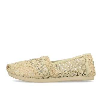 TOMS Womens Classics Natural Floral Lace (10015069) braun