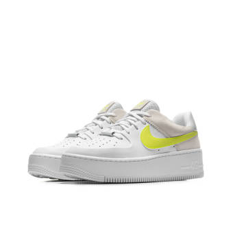 Nike Wmns Air Force 1 Sage Low (CW2652-100) weiss