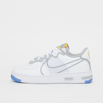 Nike Air Force 1 React SU (GS) (CT5117-102) weiss