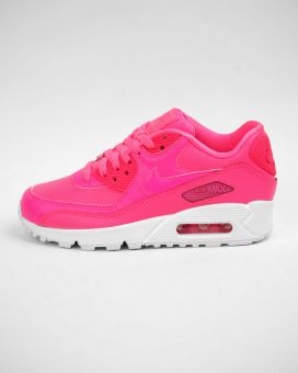 Nike Air Max 90 Leather GS (724852-600) pink