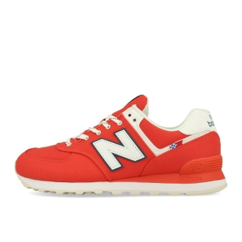 New Balance ML 574 SOL Light Red White (774821-60-13) rot