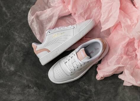 PUMA Ralph Sampson Low Perf Brushed (374751 03) weiss