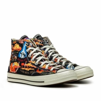 Converse Chuck Twisted 70 Resort Hi (167761C) schwarz