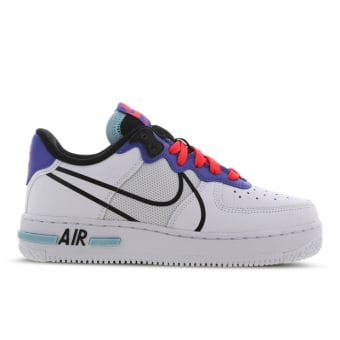 Nike Air Force 1 React GS (CD6960-101) weiss