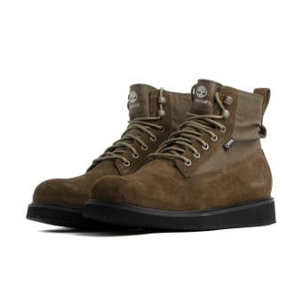 Timberland 6 In Leather/Fabric Vibram Boot (TB0A264H3021) braun