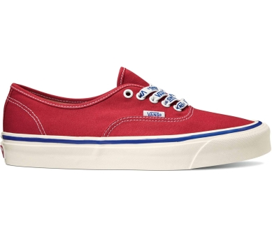 Vans Anaheim Factory Authentic 44 DX (VN0A38ENWO8) rot