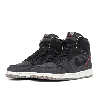 NIKE JORDAN 1 Air High Zoom Crater (CW2414-001) schwarz