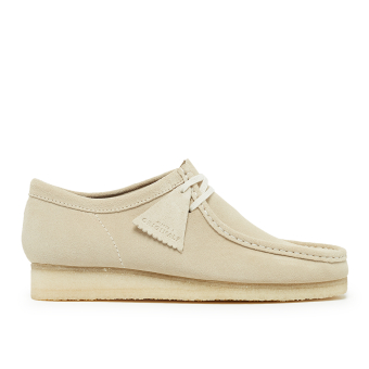 Clarks Wallabee (Off White) (26139174-OWS) weiss
