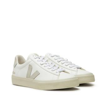 VEJA WMNS Campo Chromefree Leather (CP052429A) weiss