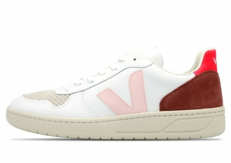 VEJA V 10 Leather (VX022292B) weiss