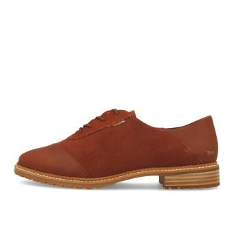TOMS Ainsley Penny Brown Leather Suede (10014149) braun