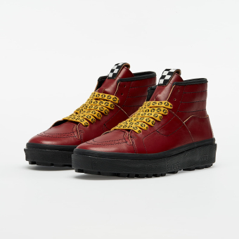 Vans x Taka Hayashi Sk8-Boot LX (Leather) (VN0A4UWQ26K1) rot
