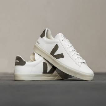 VEJA Campo Chromefree Leather (CP052347B) weiss