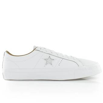 Converse one star leather ox (153700C) weiss