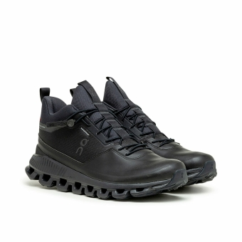 ON Cloud Hi WMNS Waterproof (28.99672) schwarz