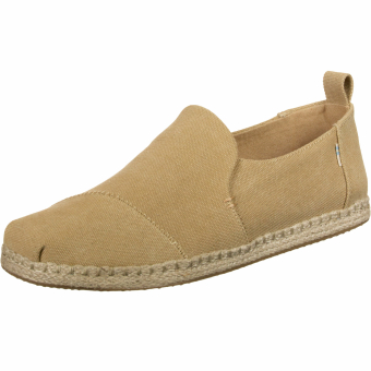 TOMS Washed Canvas Espadrilles (10015026) braun