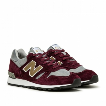 New Balance M670BGW Made in England (821371-60-18) rot