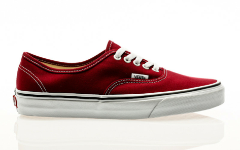 Vans Authentic Sneaker (VN0A38EMVG4) rot