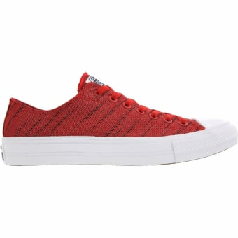 Converse Chuck Taylor All Star II Knit Ox (151090C) rot