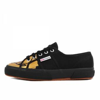 Superga 2750 Fancot Belle Onomato W Black Gold (S00A1D0-901) schwarz