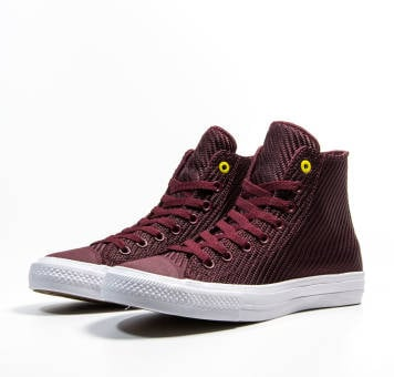 Converse Chuck Taylor All Star II Hi Sports Blocking (155771C) rot