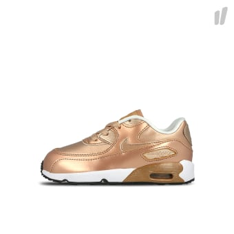 Nike Air Max 90 SE Leather TD (MetallicRedBronze/MetallicRedBronze-White) braun