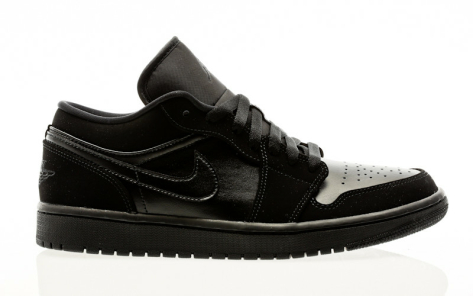 Nike Air Jordan 1 Low (553558-025) schwarz