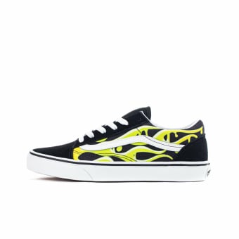 Vans Old Skool Junior Slime Flame (VN0A4UHZ31M1) schwarz