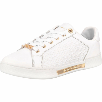 Tommy Hilfiger TH Monogram Elevated (FW0FW05549) weiss