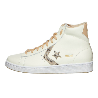 Converse Pro Snake Leather Schuhe Print (170497C) weiss