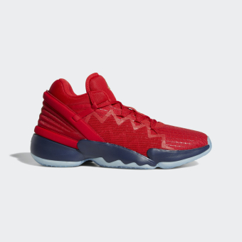 adidas Originals D O N Issue 2 Basketballschuh (FX6519) rot