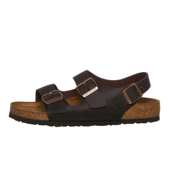Birkenstock Milano BS Oiled Leather (034871) braun