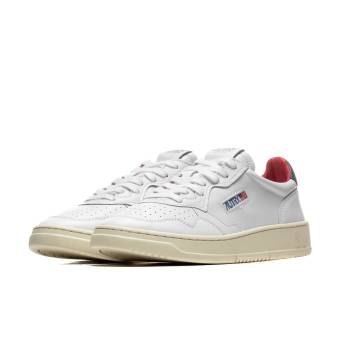 Autry 01 Low Leather (A10IAULMLN18) weiss