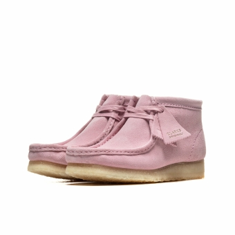 Clarks WMNS Wallabee Boot (26154165) rot