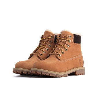 Timberland 6 IN Inch Premium WP Shearling LINED (TB0A1BEI2311) braun