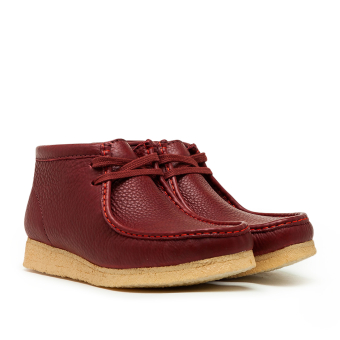 Clarks x Sporty Rich Wallabee Boot (26155656) rot