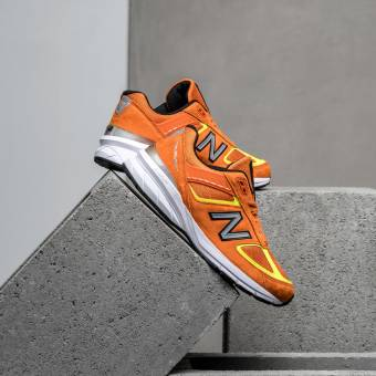 New Balance M990OH5 Made In USA (M990OH5) orange