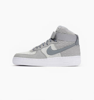 Nike Wmns Air Force 1 Hi Premium Suede (845065-001) grau