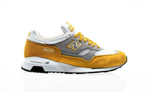 New Balance M1500 Yellow Suede YG yellow-grey (512221-60-7) gelb