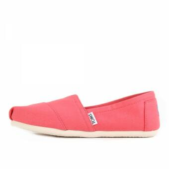 TOMS Womens Classics Spiced Coral Canvas (10008988) pink