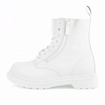 Dr. Martens Pascal W ZIP White Aunt Sally (22243100) weiss