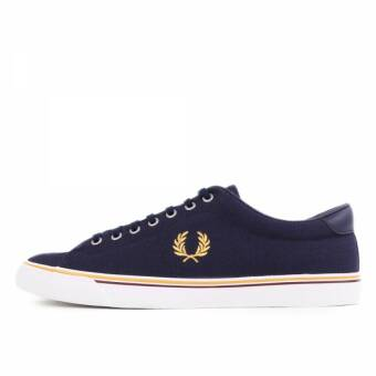 Fred Perry Underspin Canvas Carbon Blue Gold (B9090-584) blau