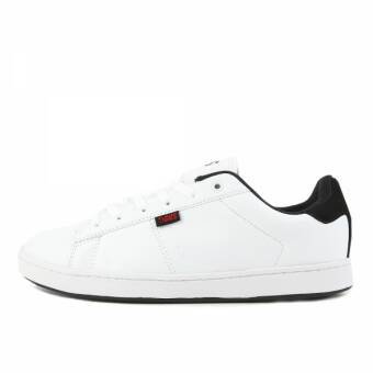 DVS Revival 2 White Black Red Leather (DVF0000261-110) weiss