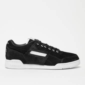 Reebok Workout Lo Plus x Foot Patrol (BS5406) schwarz