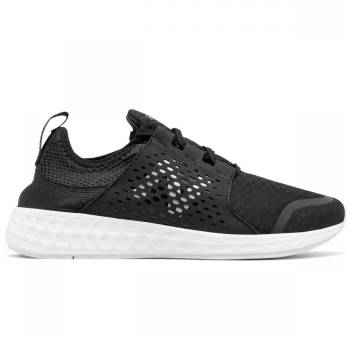 New Balance W Fresh Foam Cruz BK Black White (569231-50-8) schwarz