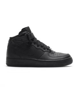Nike Air Force 1 Mid GS (314195-004) schwarz