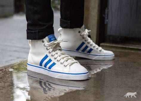 adidas Originals Nizza Hi (BZ0543) weiss