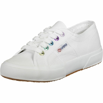 Superga Colorful Eyelets (S61121W A9T) weiss