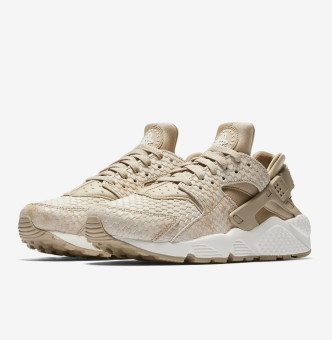 Nike Wmns Air Huarache Run Premium in braun 683818 201
