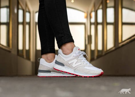 New Balance WS574TO (WS574TO) weiss